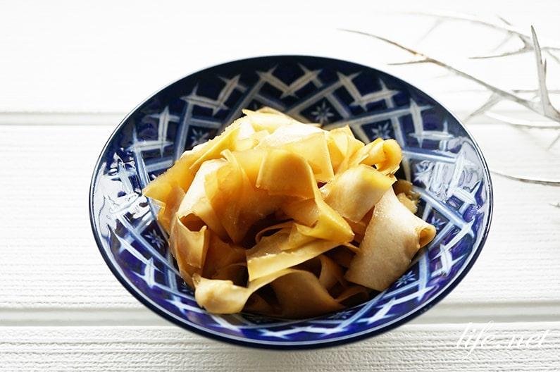 平野レミさんの大根の皮った漬けもののレシピ。簡単!絶品です。