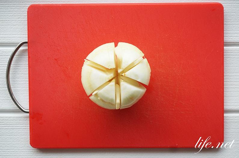 10分で!レンジ玉ねぎカレーのレシピ。簡単コーンビーフカレー。