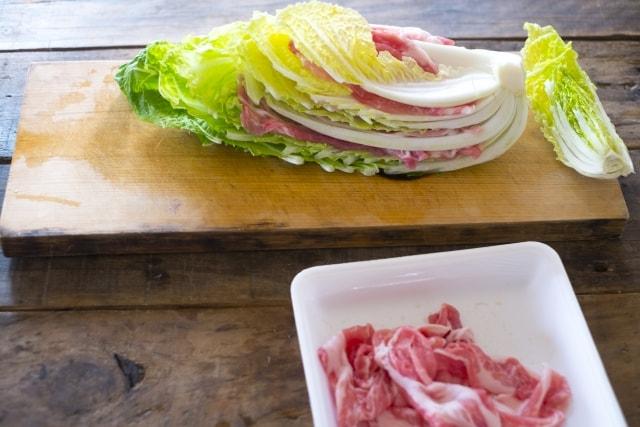 豚肉のはさみしょうが焼きレシピ