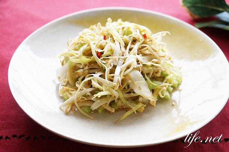 大根の皮と葉のきんぴらのレシピ。めんつゆで簡単!