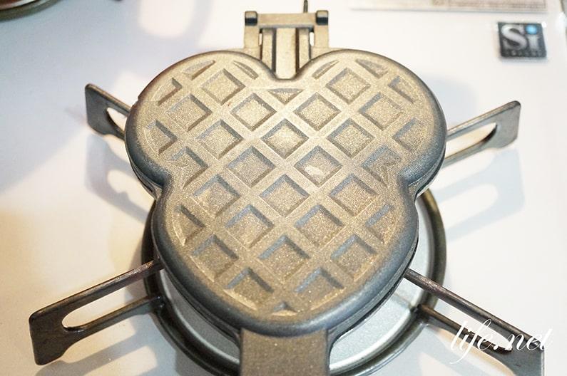 焼き肉まんのレシピ。ワッフルメーカーやホットサンドメーカーで!