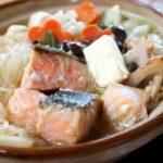鮭の鍋の作り方。梅ズバで話題の認知症予防になるレシピ。