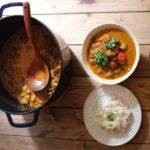 鉄鍋で作るカレーのレシピ