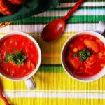 チリコンカン風きなこスープのレシピ
