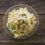 あさイチのしらすハーブポテトサラダのレシピ。