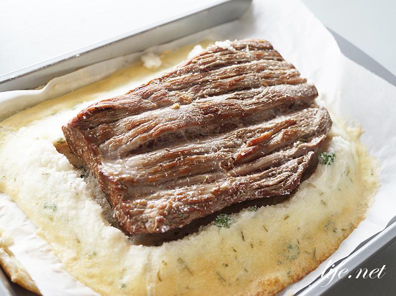 志麻さんの牛ヒレ肉の塩釜焼きのレシピ。沸騰ワード10で話題。
