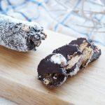 サラミチョコレートのレシピ。NHKきょうの料理で紹介。