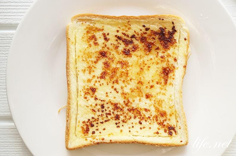 ほんだしトーストのレシピ。顆粒和風だしとマヨネーズで簡単絶品。