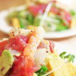 みかん風味の海鮮ちらし寿司