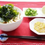 栗原はるみさんのわかめうどんのレシピ。つゆが絶品、NHKきょうの料理で紹介。