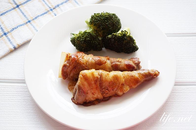 たけのこの肉巻きのレシピ。豚バラ肉とたけのこの絶品おかず!