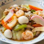 栗原はるみさんの春野菜の五宝菜のレシピ。NHKきょうの料理で紹介。