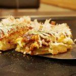 秘密のケンミンショー昆布入りお好み焼きのレシピ。富山の人気メニュー。