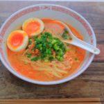 担々麺のレシピ。ごごナマで紹介、インスタントラーメンのとんこつ味で。