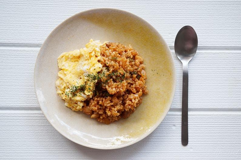 あさイチのチキンライスのレシピ。簡単ケチャップライス。オムライスにも