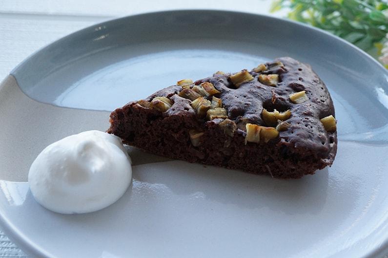 ごぼうチョコケーキのレシピ。スイーツにおすすめ。