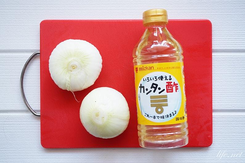 ソレダメ!酢玉ねぎのレシピ。新玉ねぎと調味酢を使った作り方。