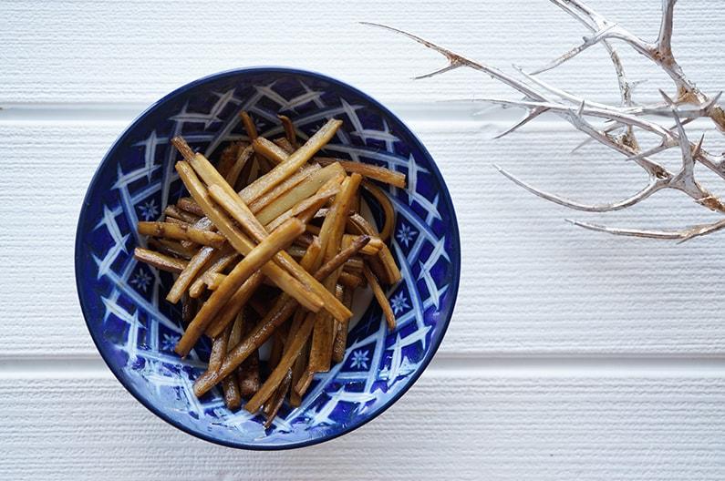 あさイチの新ごぼうのきんぴらのレシピ。和食のプロの作り方。