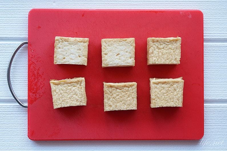 厚揚げのごぼう味噌乗せのレシピ
