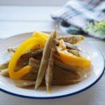 新ごぼうとパプリカのマリネのレシピ