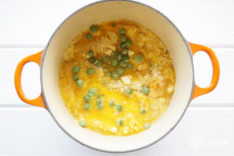 たけのこの天とじ丼の作り方。あさイチのたけのこの天ぷら卵とじ丼。