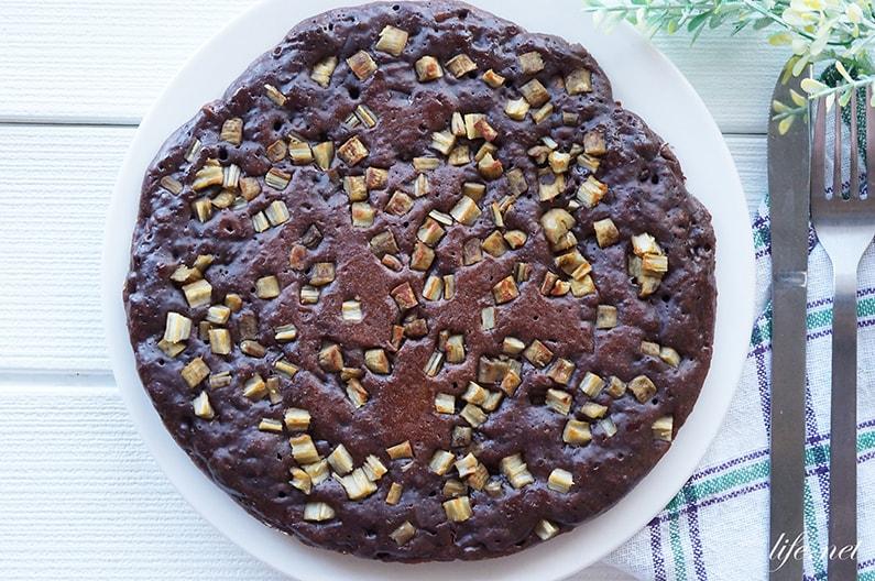 ごぼうのチョコケーキのレシピ。食感が楽しい美味しいスイーツ。