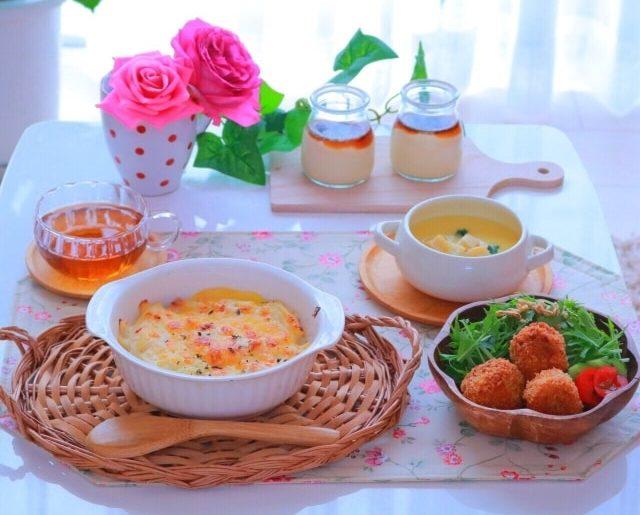 蒸し大豆のミートドリアのレシピ。あさイチで紹介、豆乳ホワイトソースで。