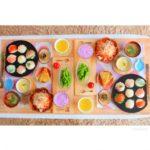 あさイチのおたのしみ一口お寿司のレシピ。ばあばの可愛い手毬寿司。