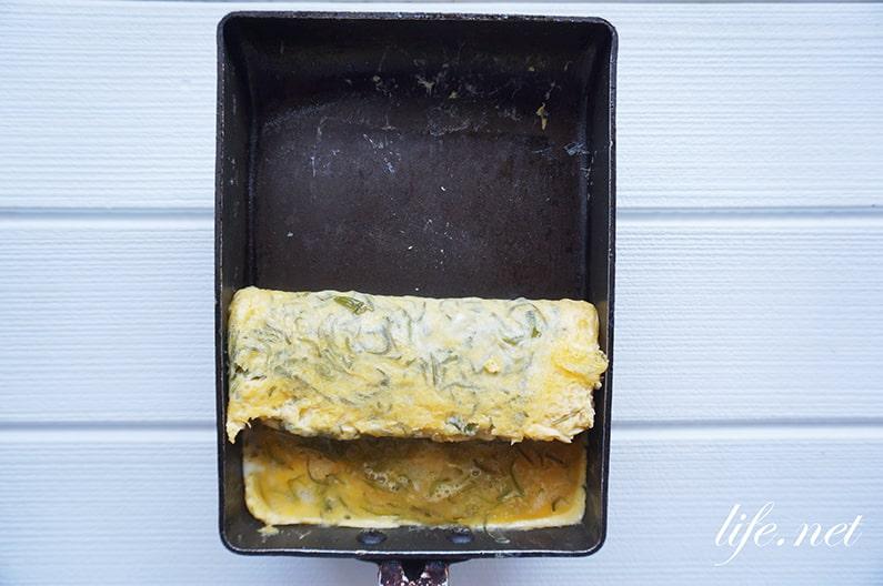 めかぶ入り卵焼きの作り方。究極のふわとろ食感が大人気のレシピ。