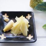 たけのこの姫皮の和え物、たたき梅和えのレシピ。きょうの料理で紹介。