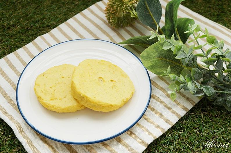 キッコーマンおからパウダーパンケーキのレシピ。ベーキングパウダーなしでふわふわに。