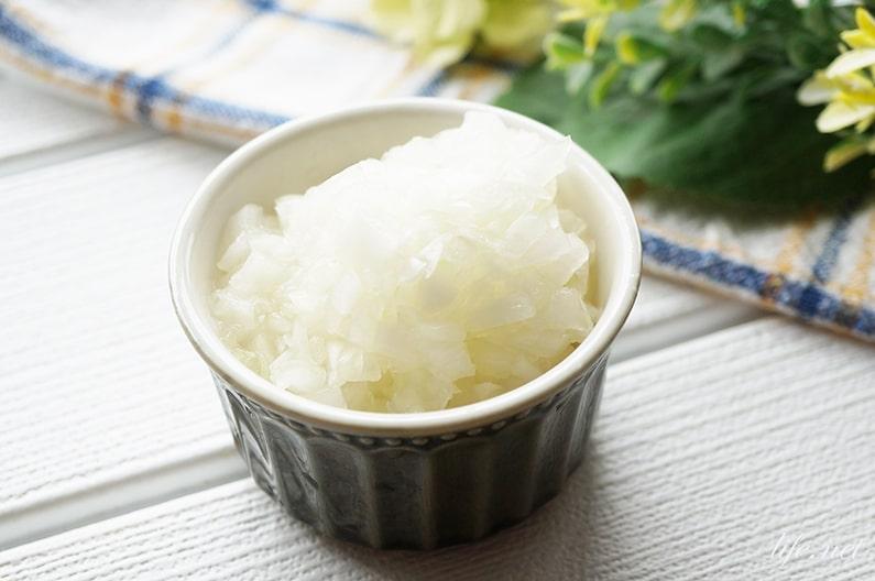 発酵玉ねぎのレシピと効果。NHKきょうの料理で話題の作り方。