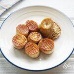 エリンギのホタテ風バター醤油焼きのレシピ。輪切りにして絶品!
