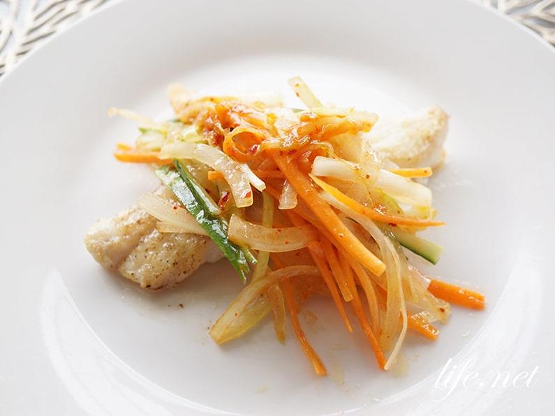 志麻さんのキムチの韓国風エスカベッシュのレシピ。簡単絶品ソース。