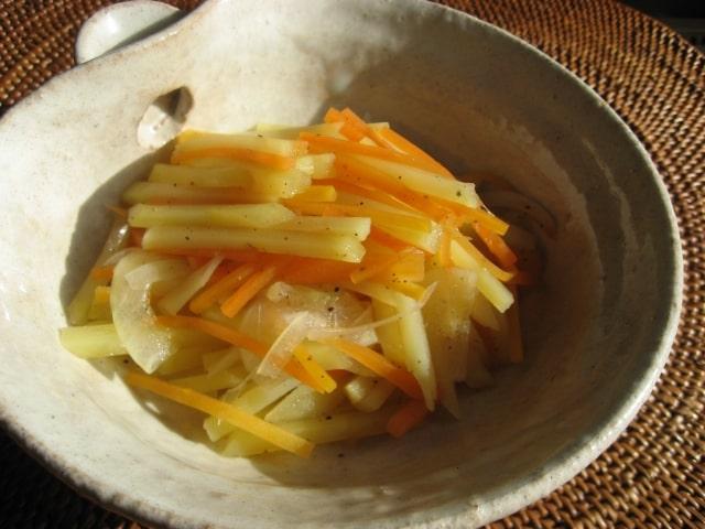 あさイチのじゃがいもの細切り炒めのレシピ。中華のプロの作り方。
