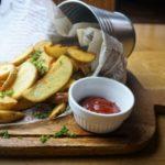 男子ごはんのフライドポテトのレシピ。青のり一味の味付けの作り方。