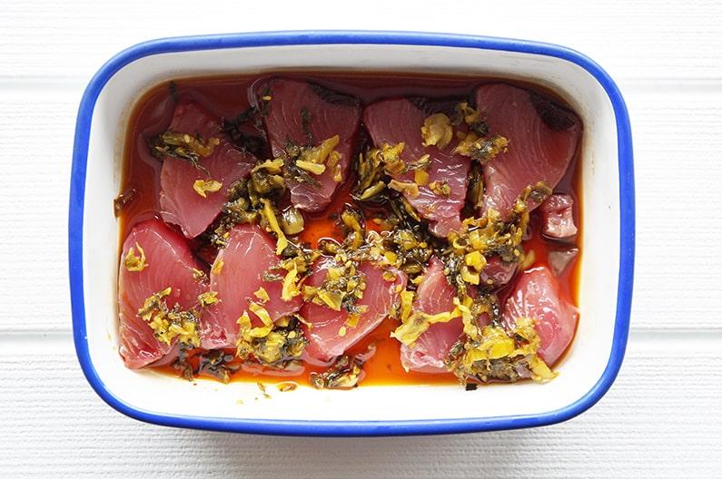 平野レミさんのカツオのたたき丼のレシピ。NHKごごナマで紹介。