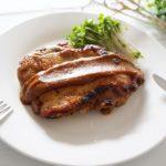 照り焼きチキンアボカドソースのレシピ。栗原はるみさんの作り方。