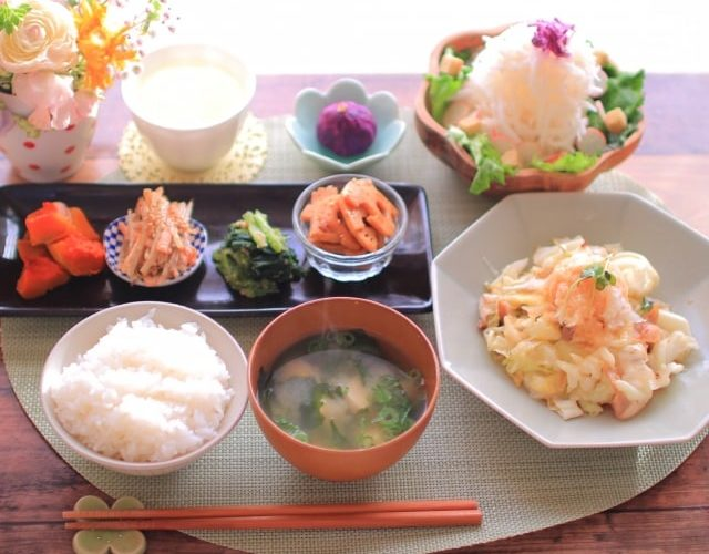 男子ごはんの野菜炒めのレシピ。