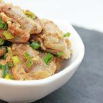 男子ごはんの砂肝のとろろポン酢のレシピ。簡単に作れる!