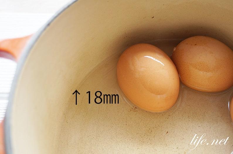 マツコの知らない世界のゆで卵の作り方。3つのコツで絶品に。