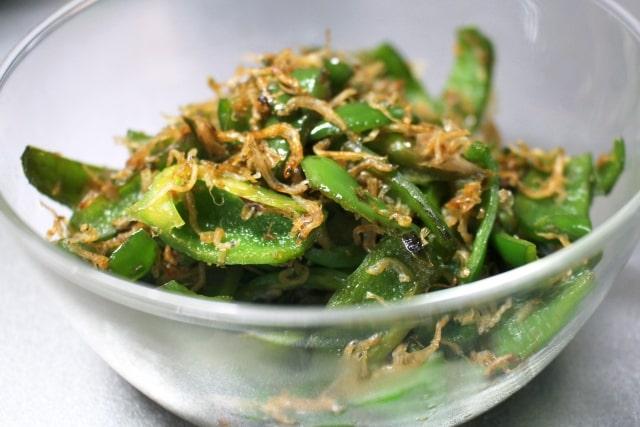 じゃこピーマンのレシピ。きょうの料理で大原千鶴さんが紹介。