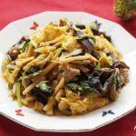 ムースーローのレシピ。あさイチで話題のきくらげの中華料理。