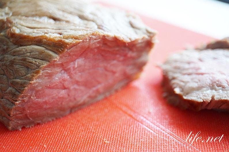 炊飯器ローストビーフのレシピ。ヒルナンデス、ソレダメでも話題に。