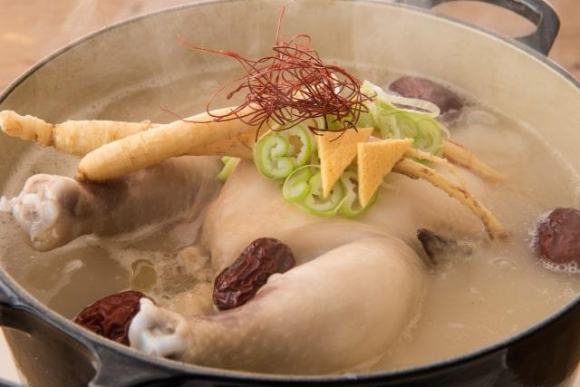 炊飯器サムゲタンのレシピ。ヒルナンデスで話題、おかゆモードで簡単。
