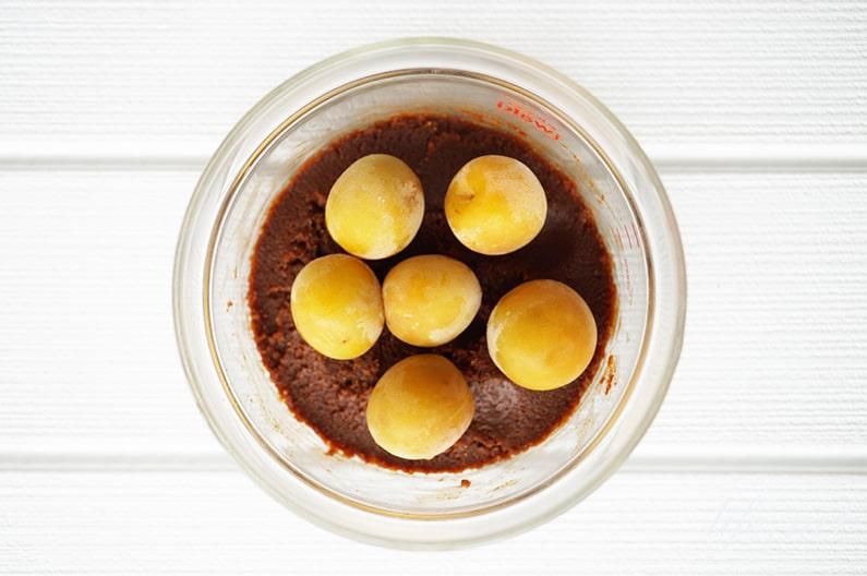 梅の味噌漬けのレシピ。NHKごごナマで話題の作り方。
