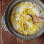 相葉マナブの焼きとうもろこしのバター醤油炊き込みご飯のレシピ。