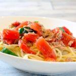 夏野菜の冷製パスタのレシピ。あさイチで話題のプロの味。