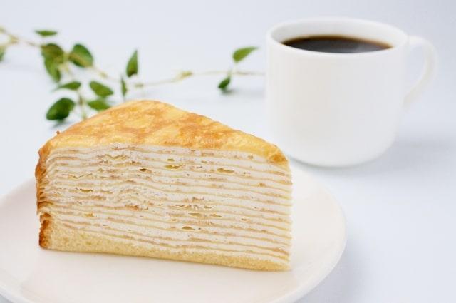 ハナタカで話題、餃子の皮ミルクレープのレシピ。余った時の活用に。