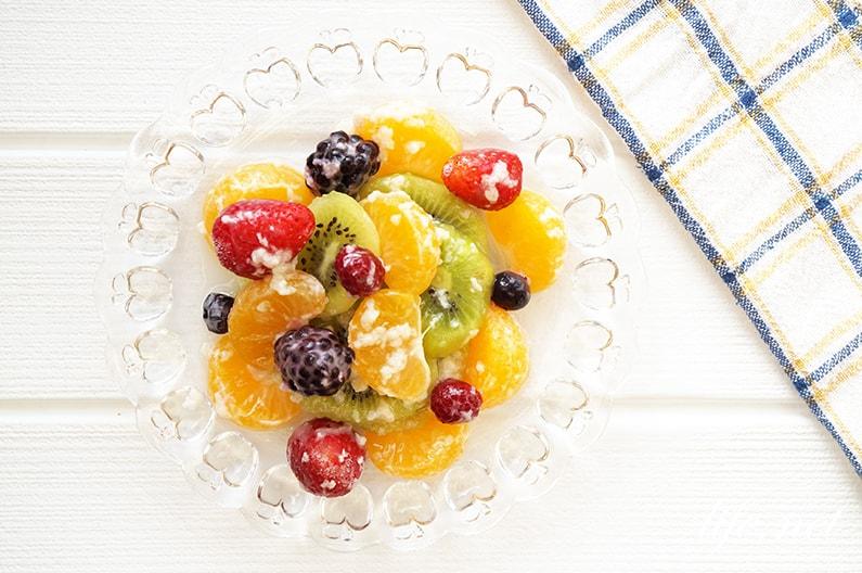 甘酒のフルーツ和えのレシピ
